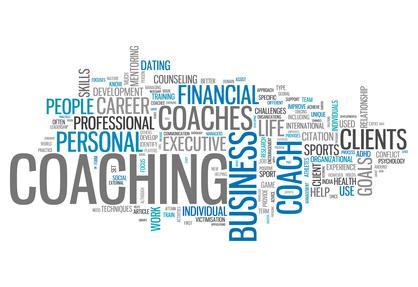 business coaching word cloud